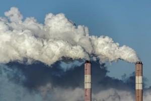 Climate Change Smoke Stacks