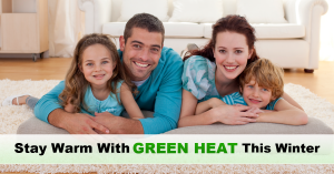 Stay warm with green heat